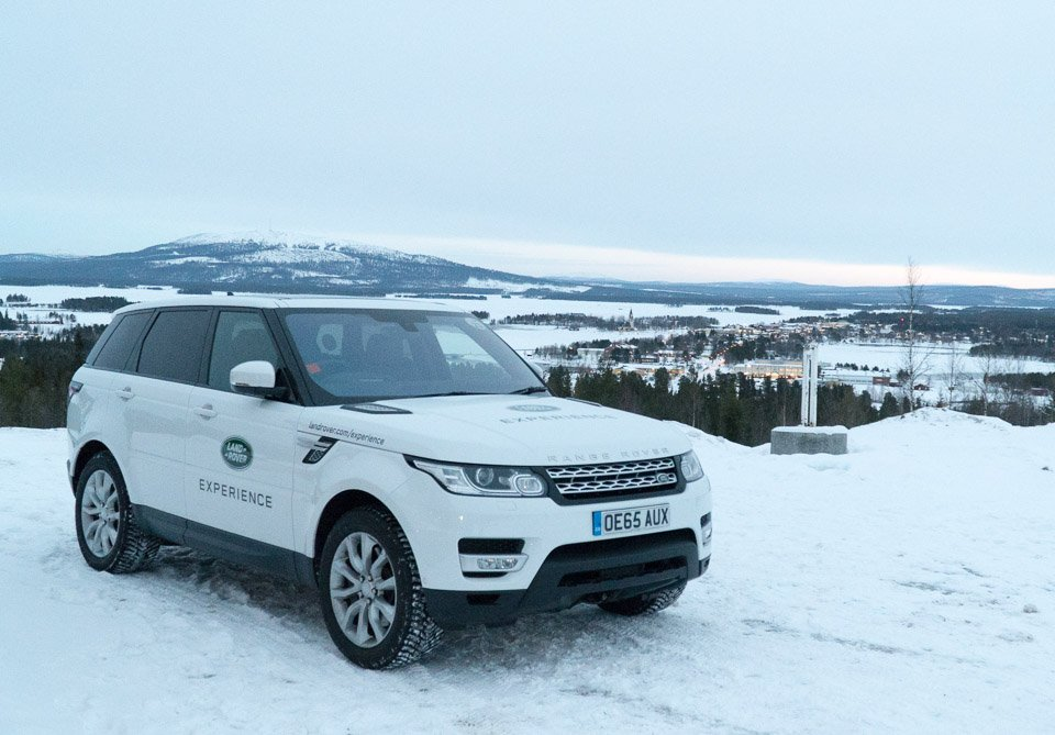 Jaguar Land Rover Ice Academy The Awesomer