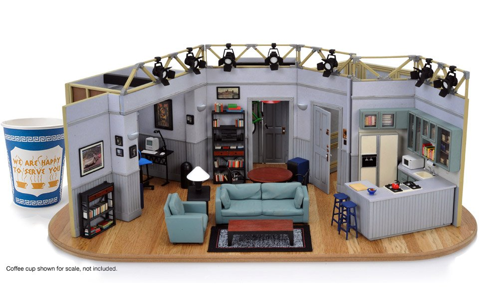 Jerry Seinfeld 39 S Apartment Model The Awesomer
