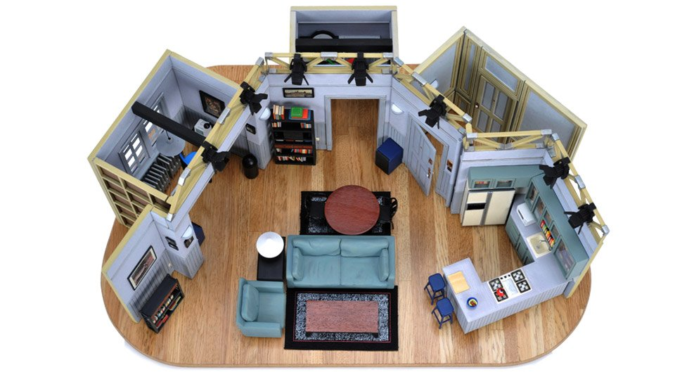 Jerry Seinfeld's Apartment Model