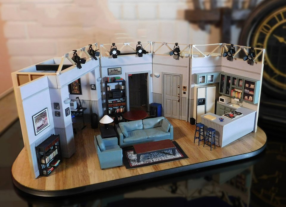 Jerry seinfeld 39 s apartment model the awesomer for The model apartment