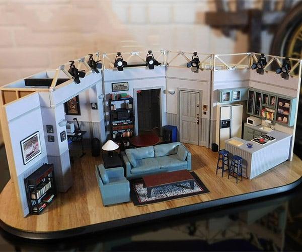 Jerry Seinfeld's Apartment Model