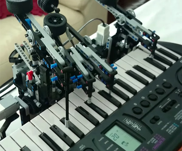 LEGO Player Piano