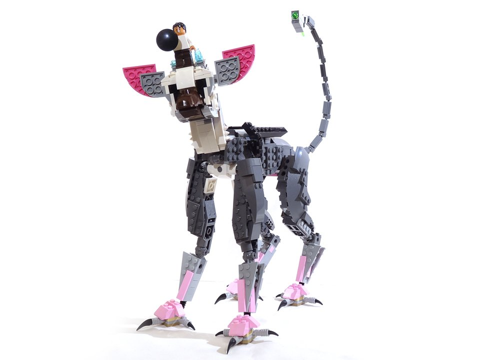 LEGO Trico the Last Guardian Concept