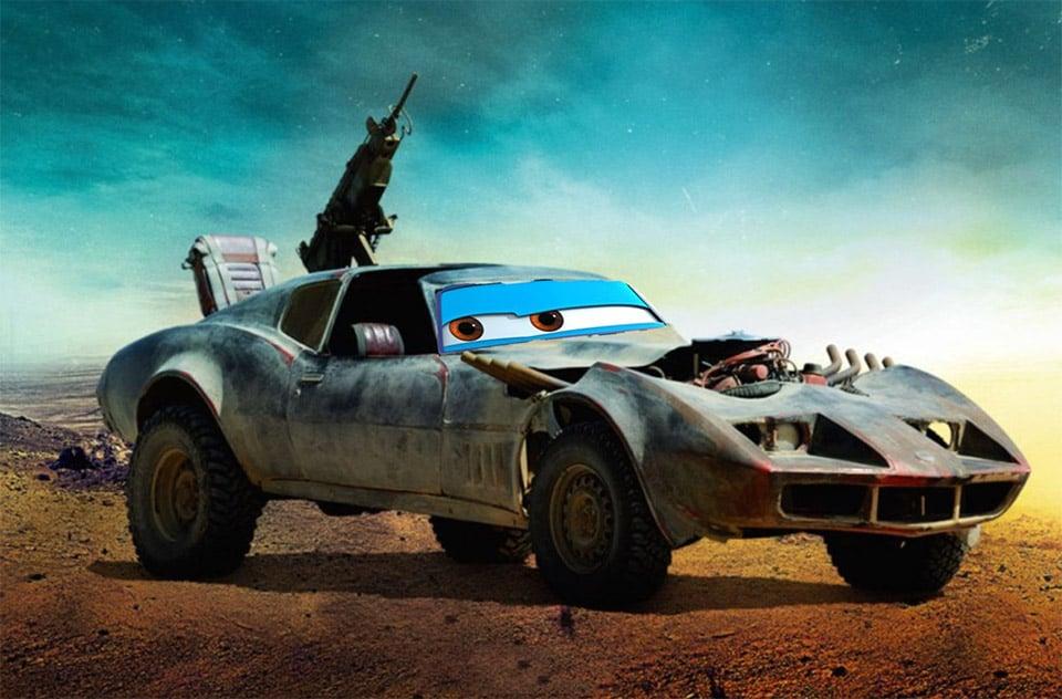 Mad Max: Pixar Road