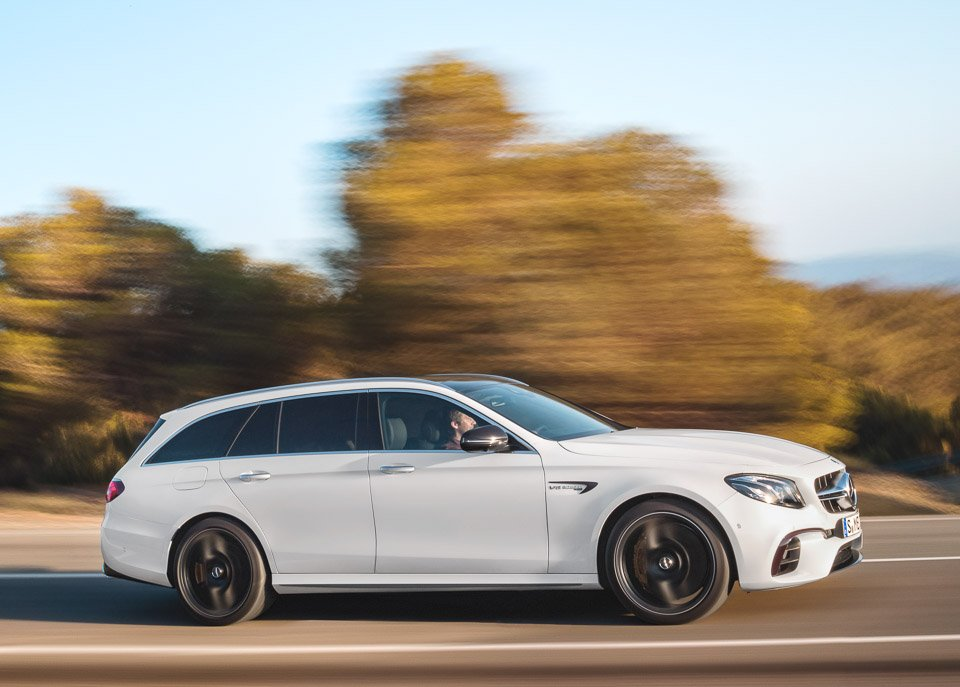 2018 mercedes amg e63 s wagon the awesomer for Mercedes benz station wagon 2017