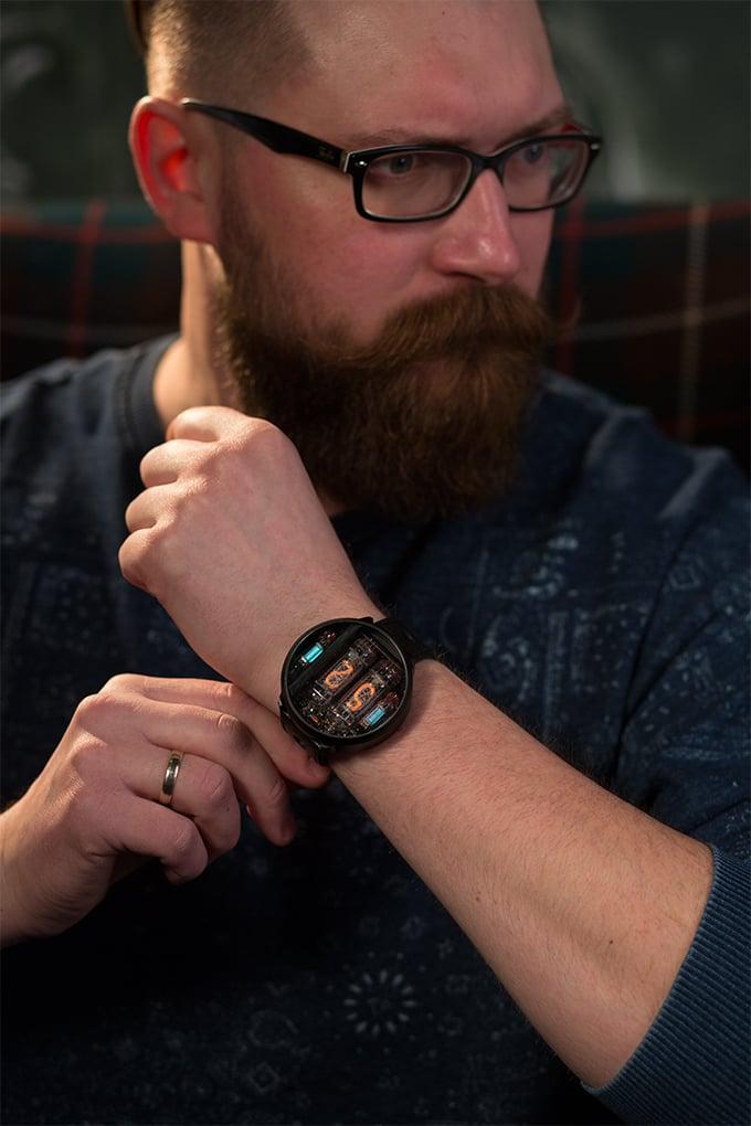 NIWA Nixie tube watch