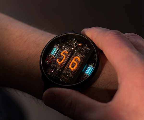 NIWA Nixie Tube Wristwatch