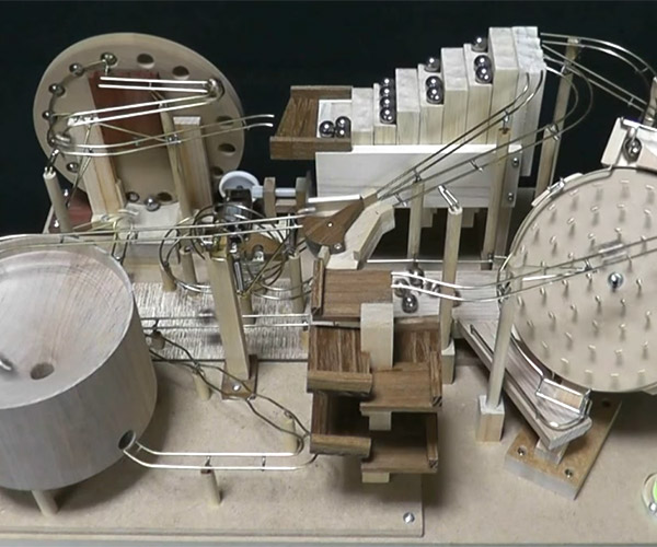 Noisy Marble Machine