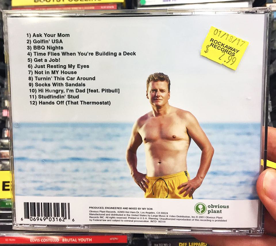 Fake CD Covers