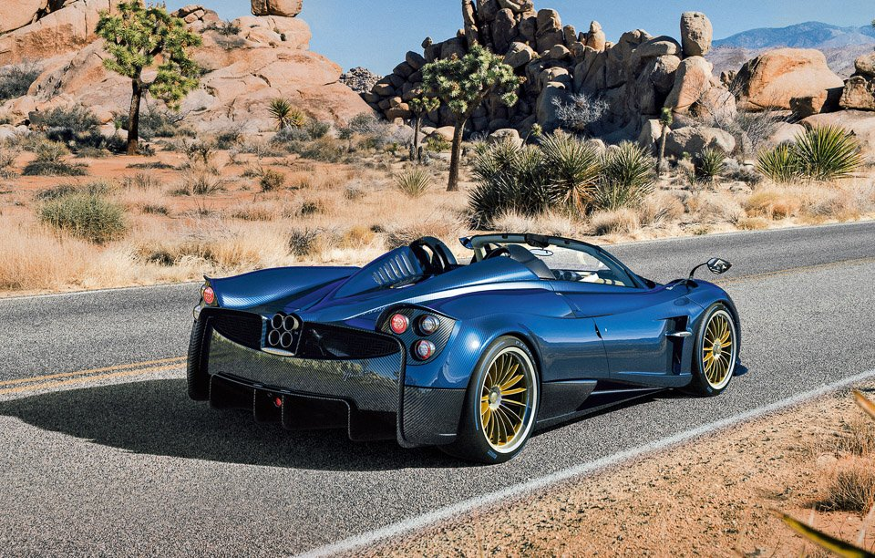 Pagani Huayra Roadster The Awesomer
