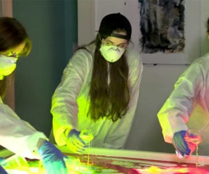 Painting with Glowsticks
