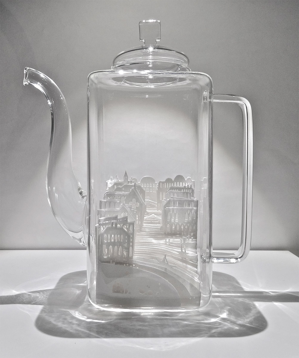 Paper Cities in Glass