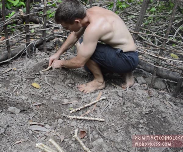 Planting Cassava and Yams