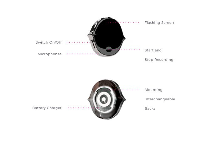 Senstone Wearable Voice Recorder