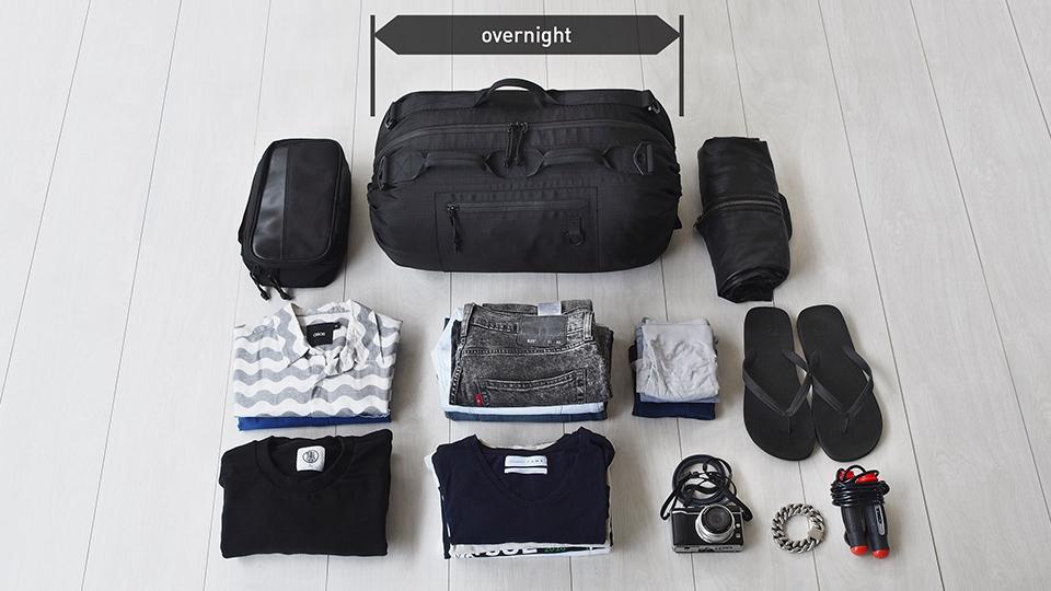 TAB: The Adjustable Bag