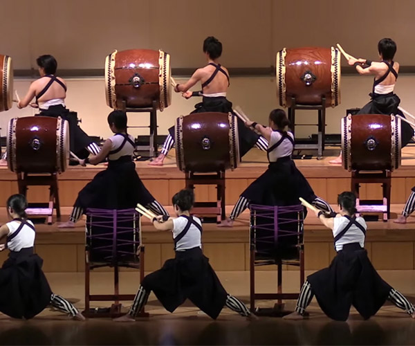 Incredible Taiko Drum Ensemble
