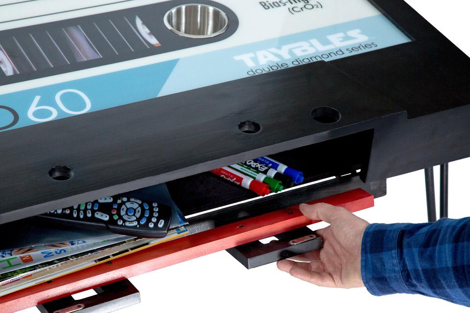 B-Side Cassette Tape Table