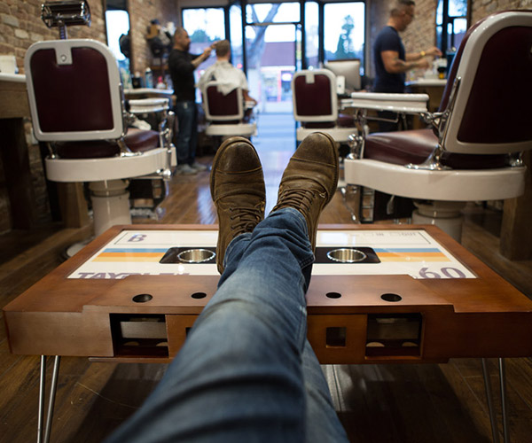 B-Side Cassette Tape Table
