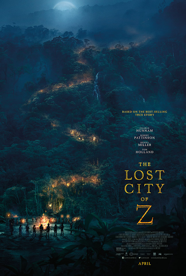 The Lost City of Z (Trailer)