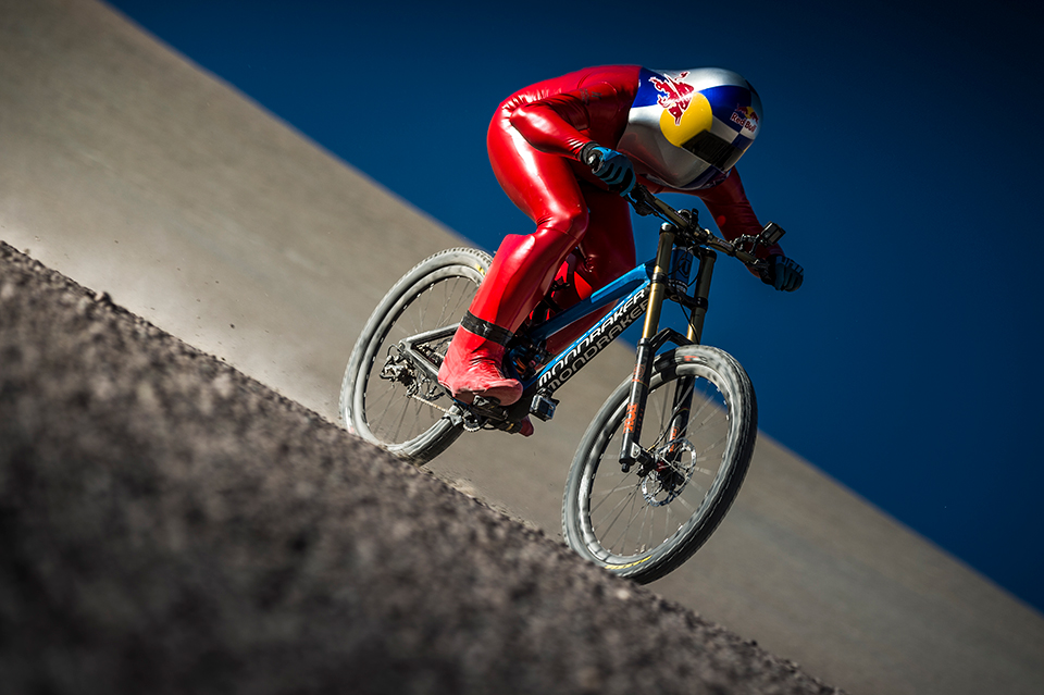 World's Fastest Mountain Biker