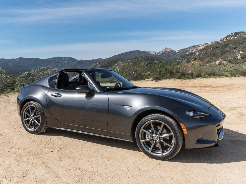driven 2017 mazda mx 5 rf the awesomer. Black Bedroom Furniture Sets. Home Design Ideas