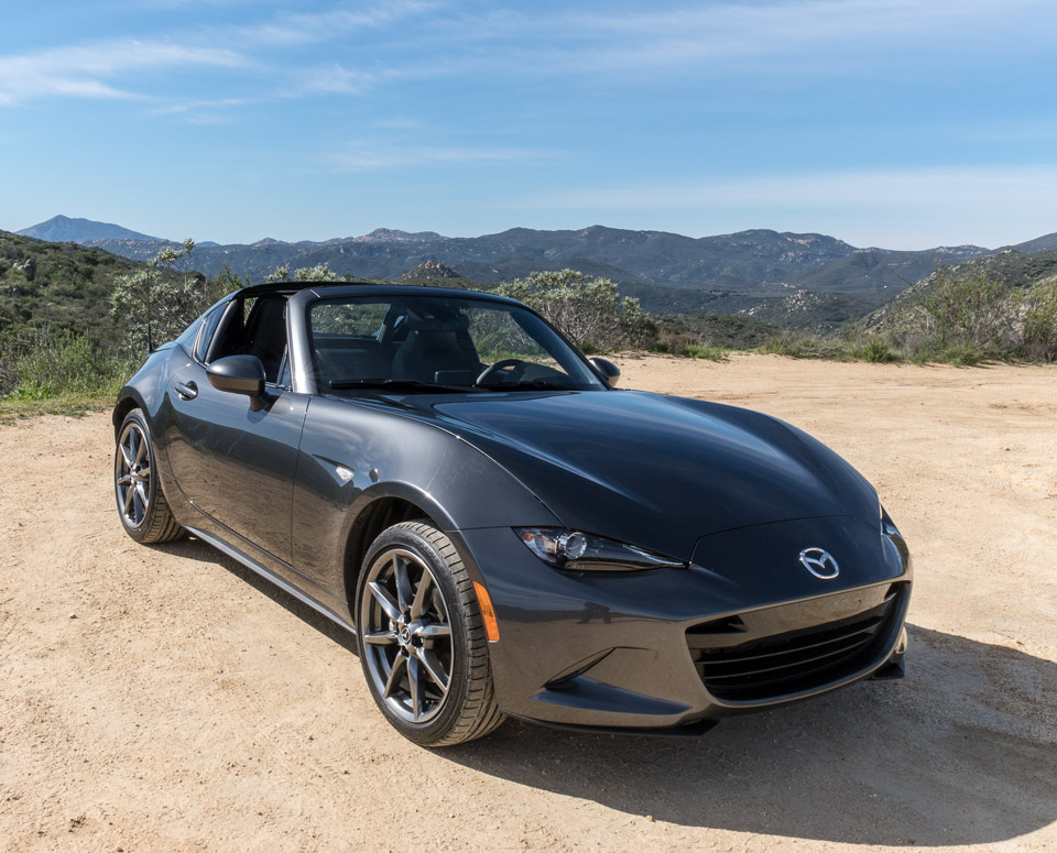 driven 2017 mazda mx 5 rf. Black Bedroom Furniture Sets. Home Design Ideas