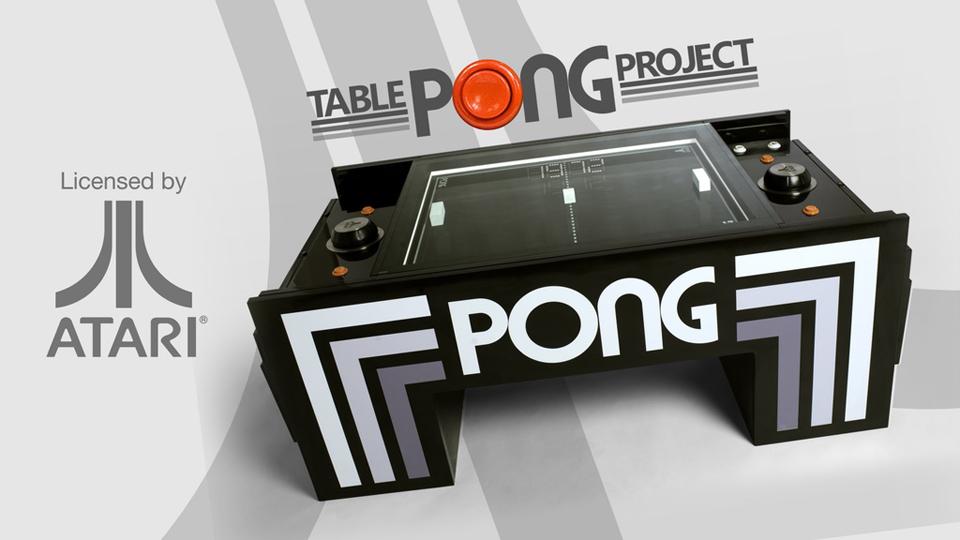 Atari PONG Coffee Table
