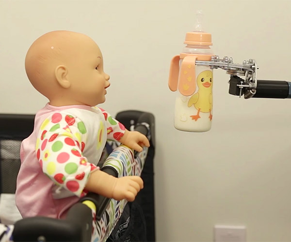 Baby Bottle Robot