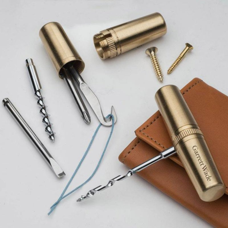 the awesomer brass capsule multi-tool