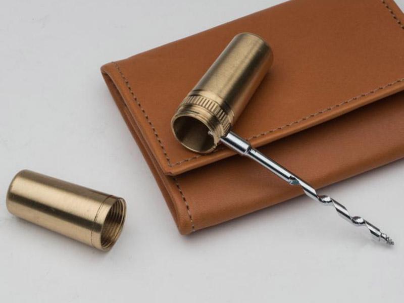 Brass Capsule Multi-Tool