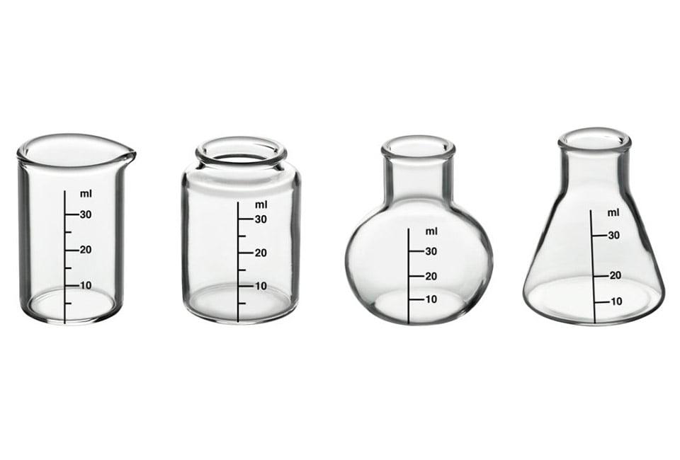 Chemistry Lab Shot Glasses
