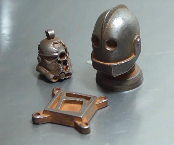 Cold-casting 3D Prints