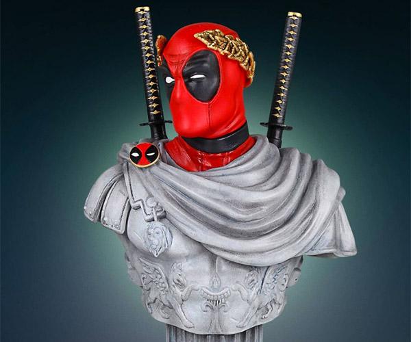 Deadpool Caesar Bust