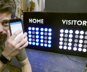 DIY Bluetooth Scoreboard