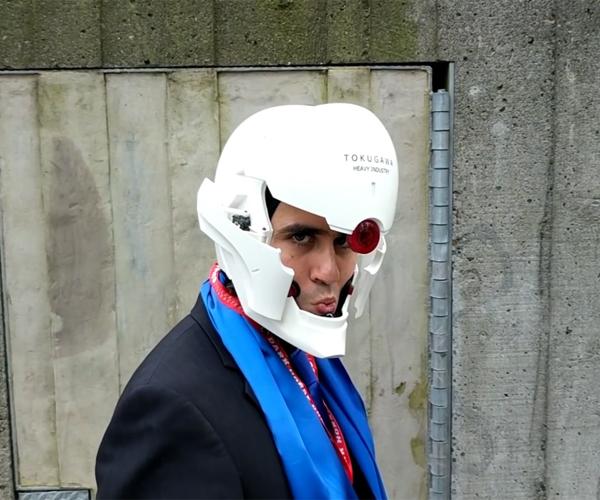 DIY Metal Gear Solid Gray Fox Mask