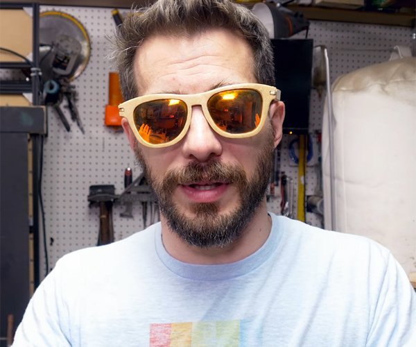 DIY Wooden Sunglasses
