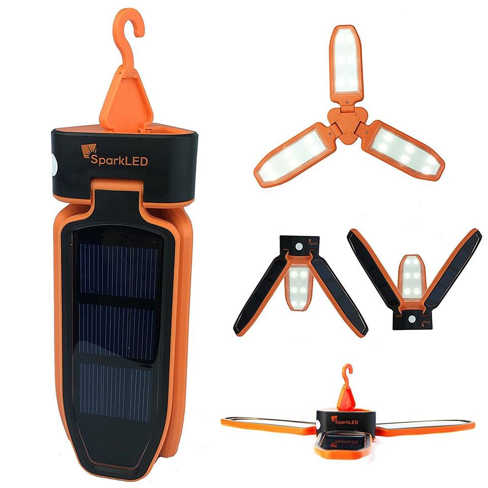 Folding Clover Solar Lantern
