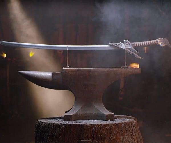 Forging Yasuo's Blade
