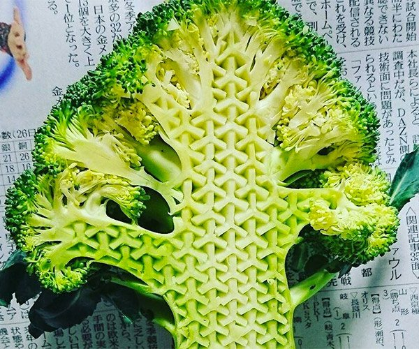 Intricate Food Carvings