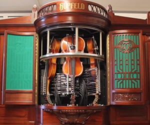 Violin-Playing Machine