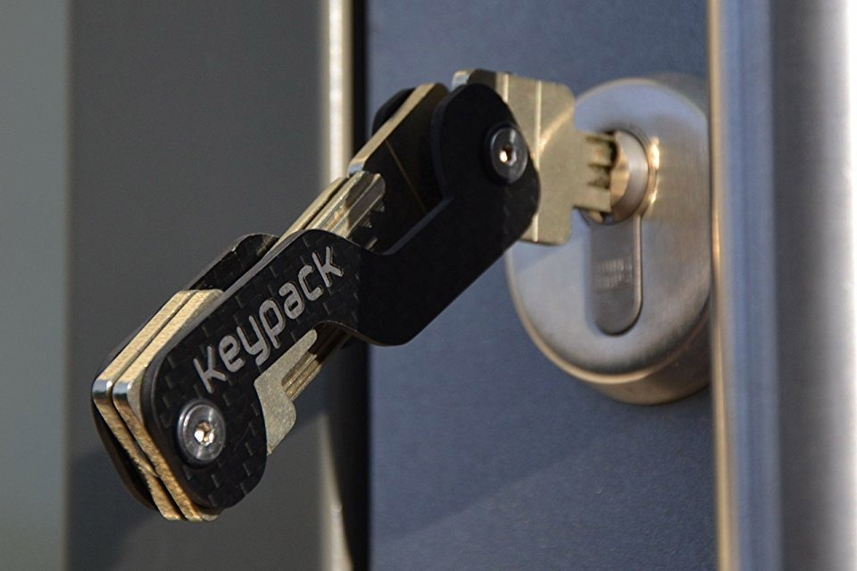 Keypack Carbon Fiber Key Holder