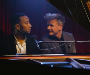 John Legend Sings Gordon Ramsay