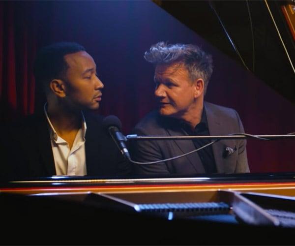 John Legend Sings Gordon Ramsay