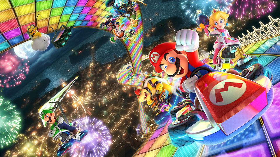 Mario Kart 8 Deluxe (Trailer)