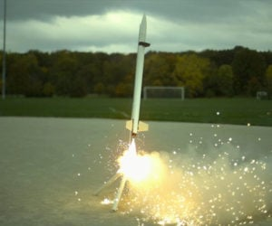 Model Rockets in Slow Motion