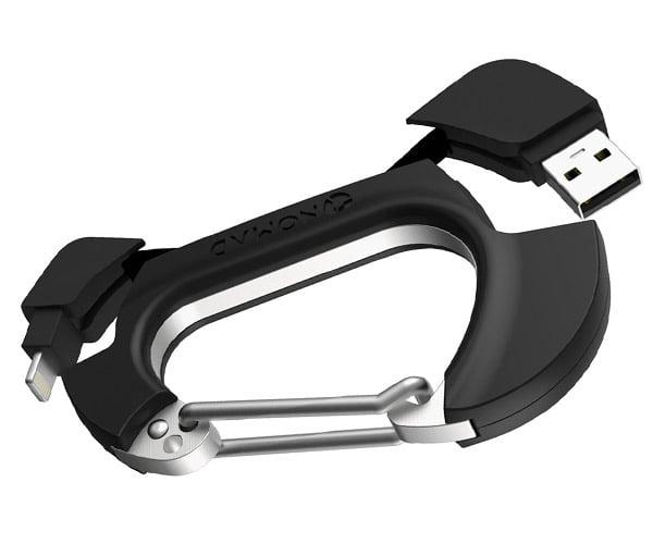 Nomadclip Charging Carabiner
