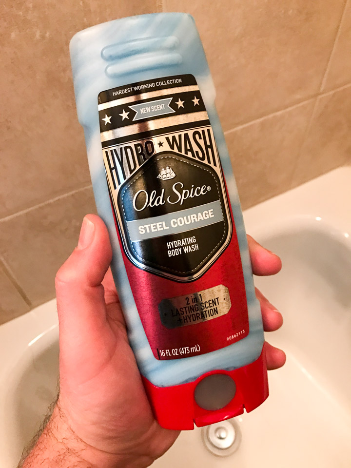 Old Spice Hydro Wash