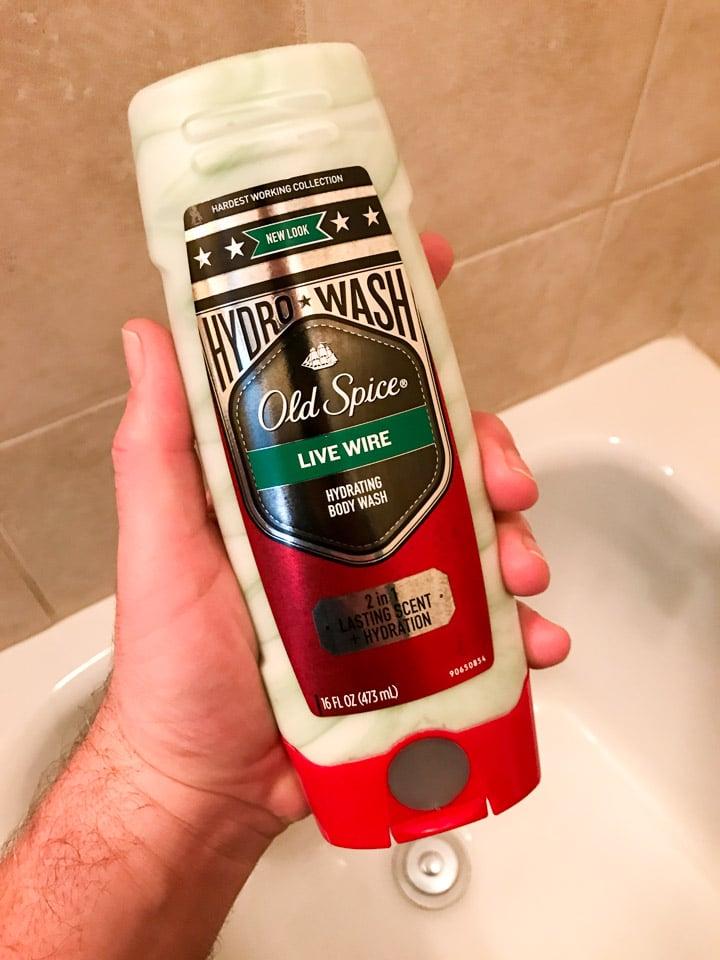 Old Spice Hydro Wash