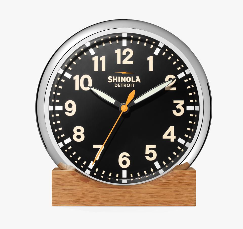 Shinola Runwell Clock
