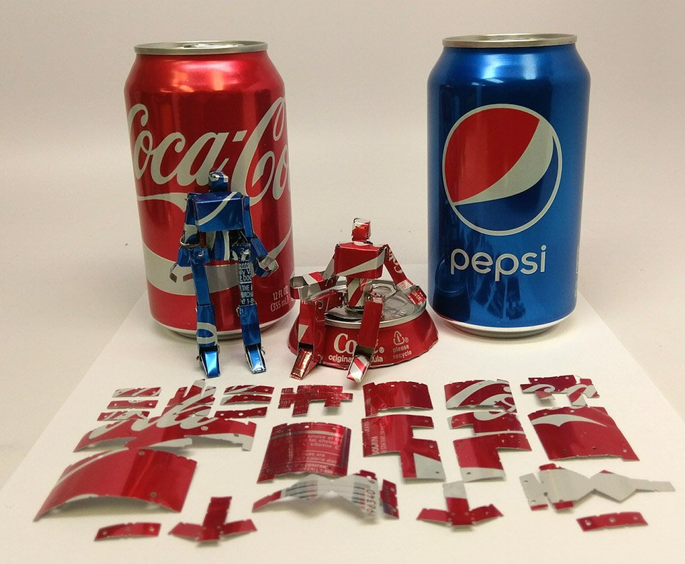 Making Robots from Soda Cans